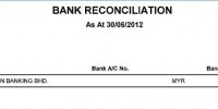 Bank Reconciliation Summary - Million Software