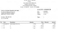 Print Sales Order - Million Business Solution